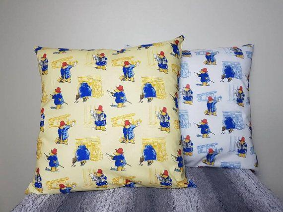 Paddington bear cushion Check out this item in my Etsy shop https://www.etsy.com/au/listing/537982796/paddington-bear-cushion-cover-paddington