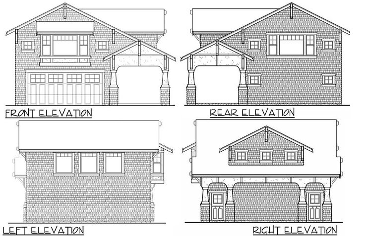 26 best a small garage apartment images on pinterest for Small craftsman house plans with garage