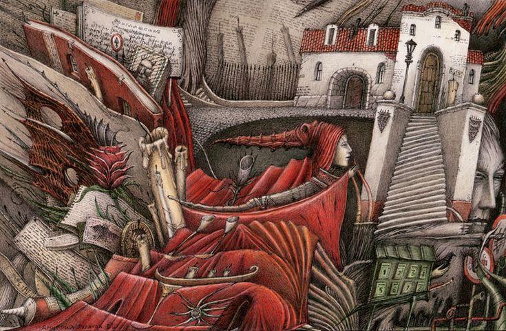 Сообщество иллюстраторов / Иллюстрации / Ляляков Дмитрий / Тайная встреча