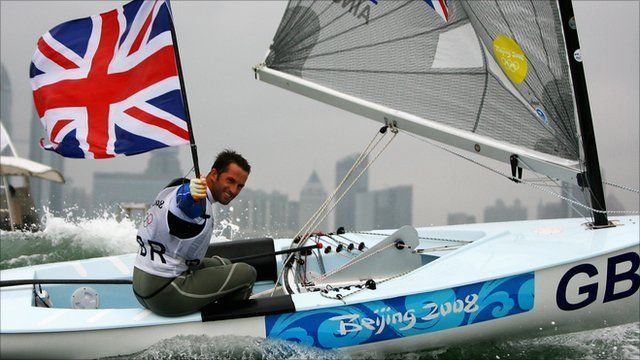 Ben Ainslie is on course to challenge for a fourth consecutive Olympic gold medal after being named in the Great Britain sailing team for London 2012.
