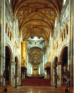 Inside the Duomo. Parma,Italia