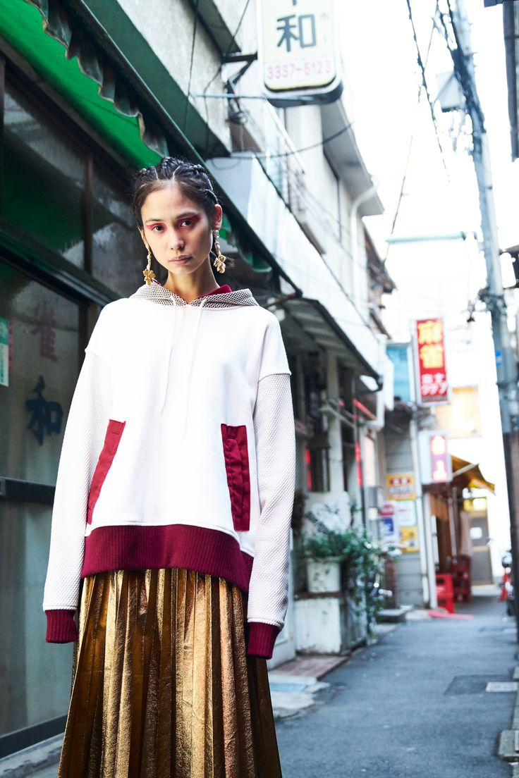 A nod to early 90s fashion from Tokyo in Be Bold by Atsushi Hirano.