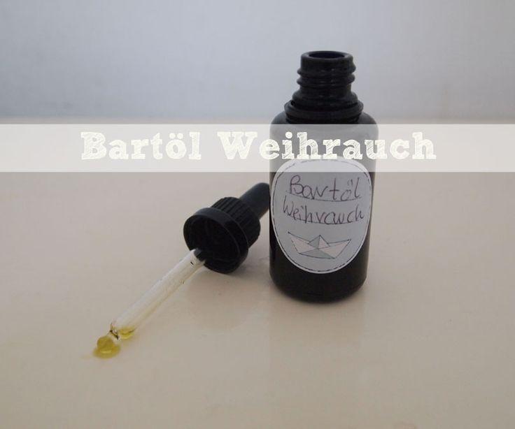 DIY:+Bartöl+Weihrauch