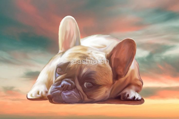 20% OFF for Today, #offer Cute #French #Bulldog Water Color #Art #Painting #dogportrait #dog #animal #best seller #order it today.