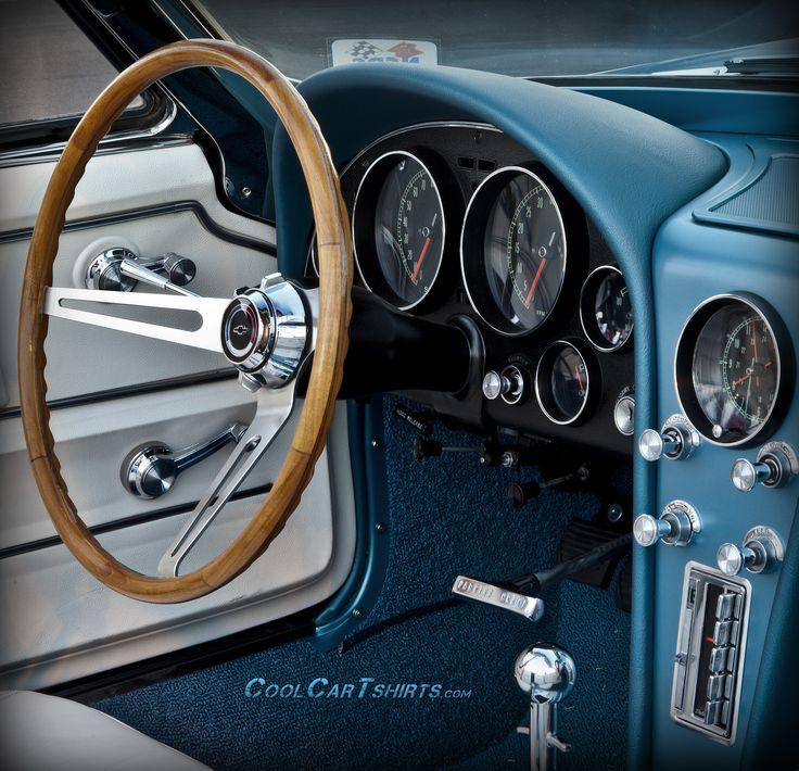 Classic Corvette beautiful interior