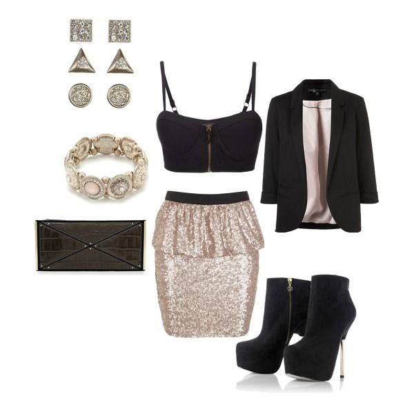 Womenu0026#39;s outfit ideas - date night - girlu0026#39;s night out - club outfit - girls just wanna have fun ...