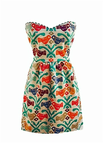 Judith March Aztec Bird dress
