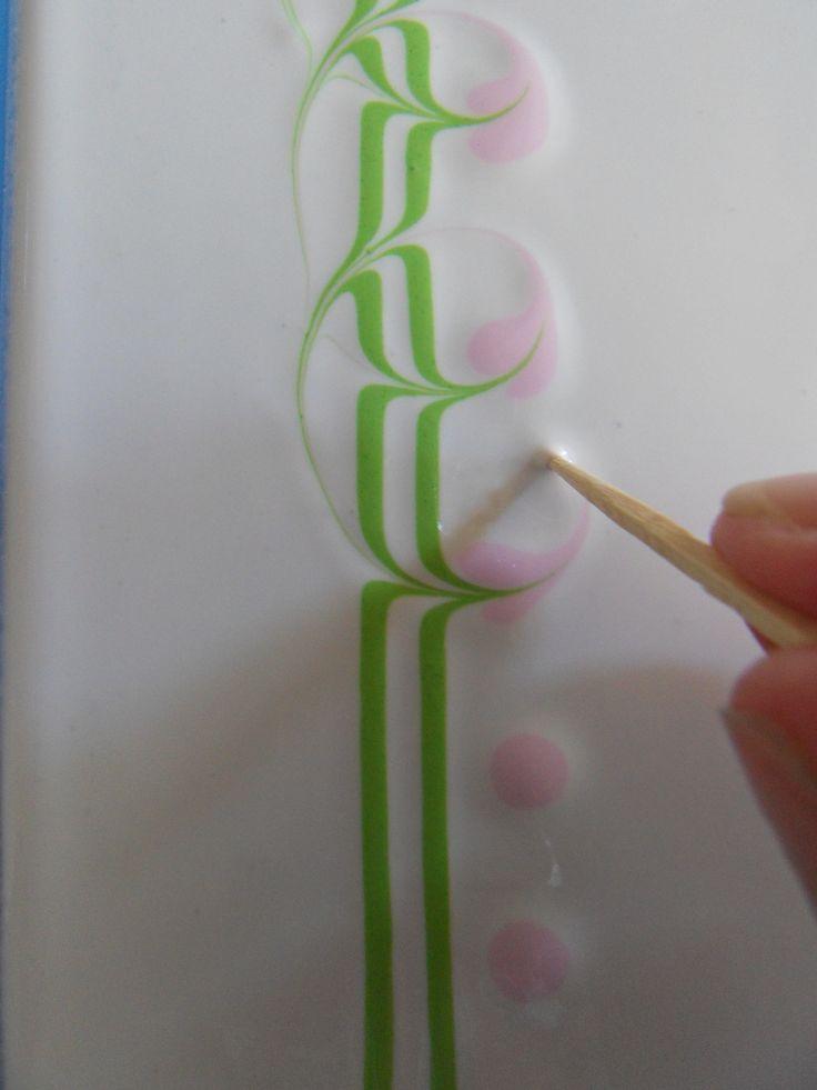 Marbleizing tutorial www.facebook.com/...
