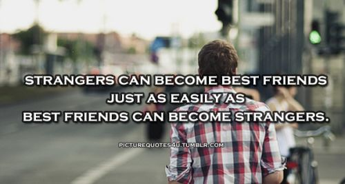 People Grow Apart Quotes | Tumblr Quotes About Friends Growing Apart Images & Pictures - Becuo