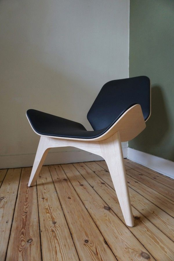 The MAMBA lounge chair by Nicolas Abdelkader, owner and founder of studio NAB.