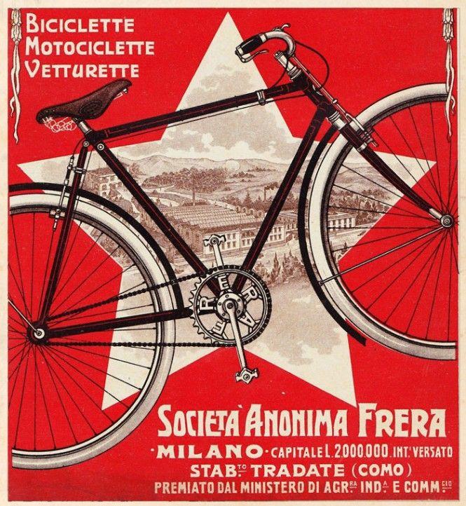 Biciclette Frera ~ Anonym #Frera #Milan