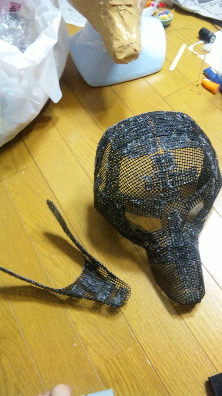 あたーま...Japanese mask miss nag