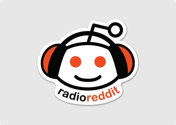 3 99 radio reddit sticker