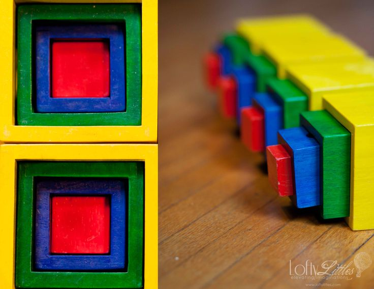 Imagiplay Nesting Blocks. Or bowls. No need for color