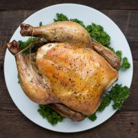 Easy Roasted Chicken (Recipe from The Ancestral Table) by @Matty Chuah Domestic Man on thedomesticman.com #paleo