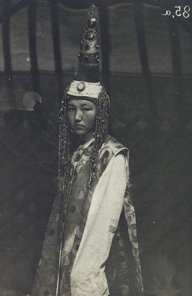 Kazakh bride. Semey, East Kazakhstan, 1899