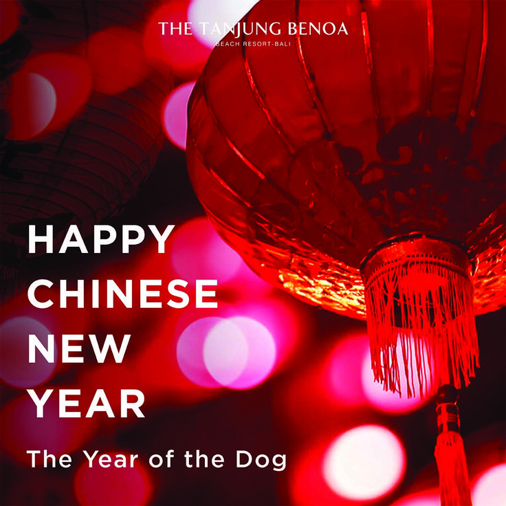 Gong Xi Fa Cai & Happy Lunar New Year to all celebrating! We here from @nilamani.hotels wishes you the most festive of celebrations with your loved ones and the most prosperous year ahead. #CNY2018 #TheTanjungBenoaBeachResortBali  #nilamanihotels #theyearofthedog #thetanjungbenoaCNY