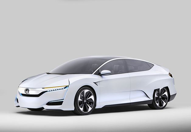 "GQ.com: Honda FCV Concept (Available: 2016)""FCV"" stands for ""Fuel Cell Vehicle,"" a very gearhead hint at the hydrogen fuel cell tucked inside its techno-suppository body. Honda is one of the few manufacturers still banking on hydrogen potentially supplanting electricity as the clean energy source of the future, despite the fact that building a network of ""gas"" stations across this—or any—nation seems like a Fitzcarraldo-esque undertaking and the general public looks at hydrogen cars as…"