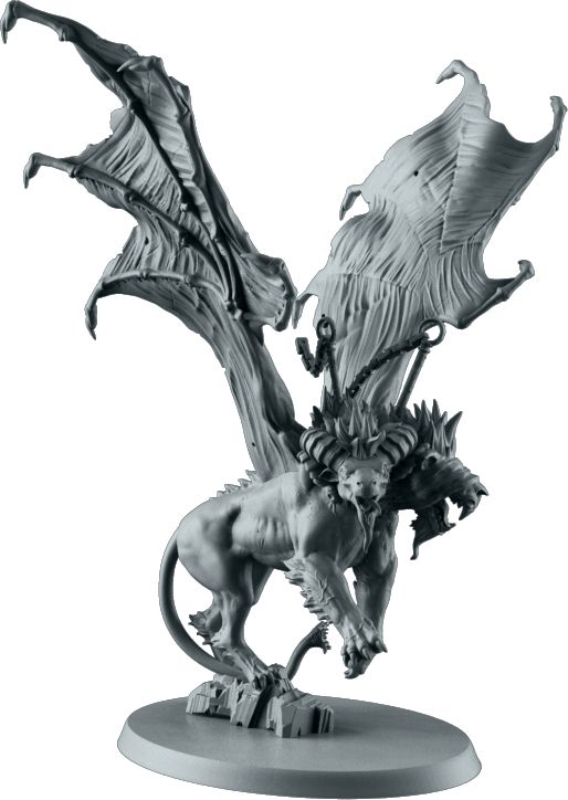 Chimera. Sculpted by Aragorn Marks