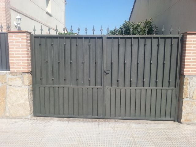 Mejores 7 im genes de puertas de paso a fincas en - Puertas para fincas ...