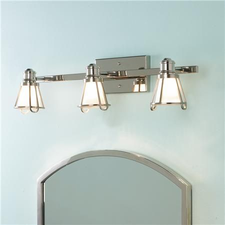 Bathroom Lighting Fixtures Polished Nickel 22 best bathroom light fixtures images on pinterest | bathroom