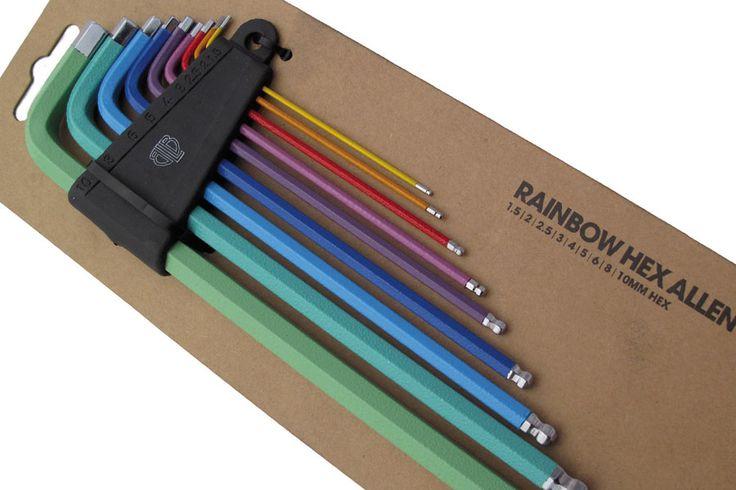 RAINBOW ALLEN KEY SETBikes Tools, Hex Keys, Allen Wrenches But, Bikes Porn, Keys Sets, Packaging Allen Keys, Hex Allen, Allen Hex, Hex Wrench