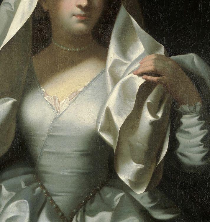 Attributed to Jean Raoux, Portrait d'une Femme en Vestale (détail)18th century