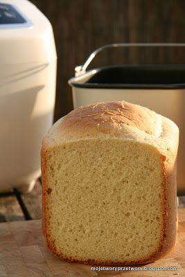 MojeTworyPrzetwory: Mój pierwszy chleb z maszyny