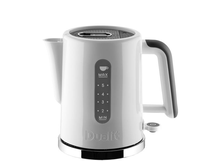 Studio by Dualit offers a choice of 2 slice and 4 slice toasters and a lightweight kettle that is easy to pour. Choose from a glossy white kettle or gloss black with matching 2 slice toaster. The black Studio by...