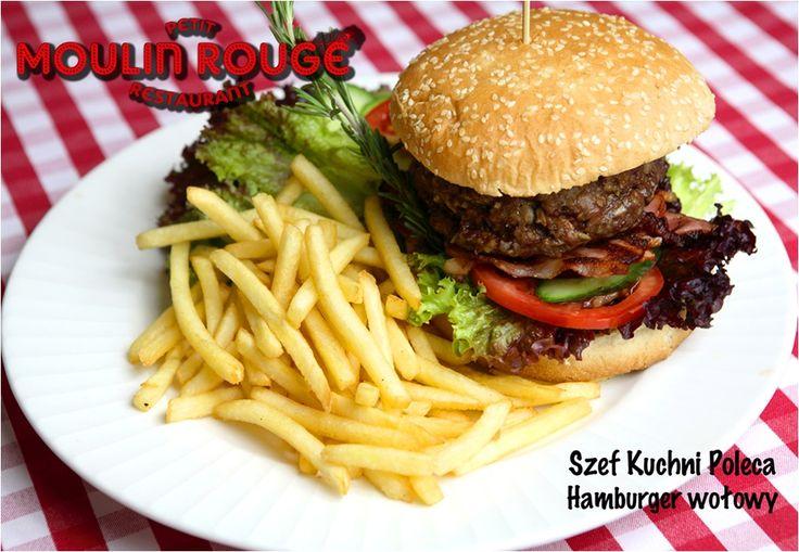 #petitmoulinrouge #restaurant #zlotetarasy #meat #food #delicious #happyhour #taste #2014 #zlote_tarasy #burger #fries