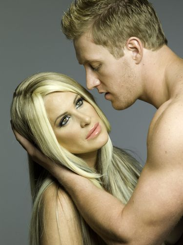 Kim and Kroy Zolciak-Biermann. The most perfect couple in the entire world.