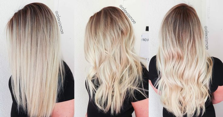Alexsis Mae : Sunkissed Hair | Smudge Roots and Sombre Balayage Highlights