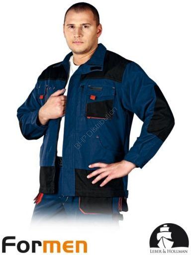 GRANATOWA BLUZA OCHRONNA LH-FMN-J - Odzież robocza, obuwie, apteczki, gaśnice, szelki bezpieczeństwa i in.