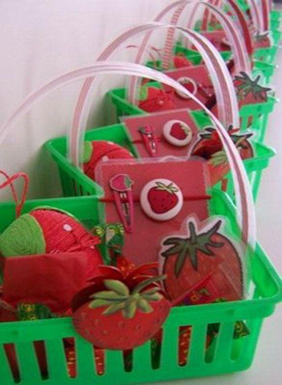 lots of strawberry shortcake birthday ideas