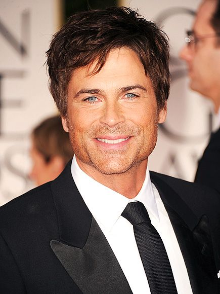Rob Lowe - not 100% but sort of quasi conservative still one of the prettiest faces in Hollywood.