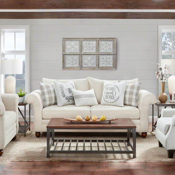 The Farmhouse Sofa Farmhouse Love Seats Living Room Decor