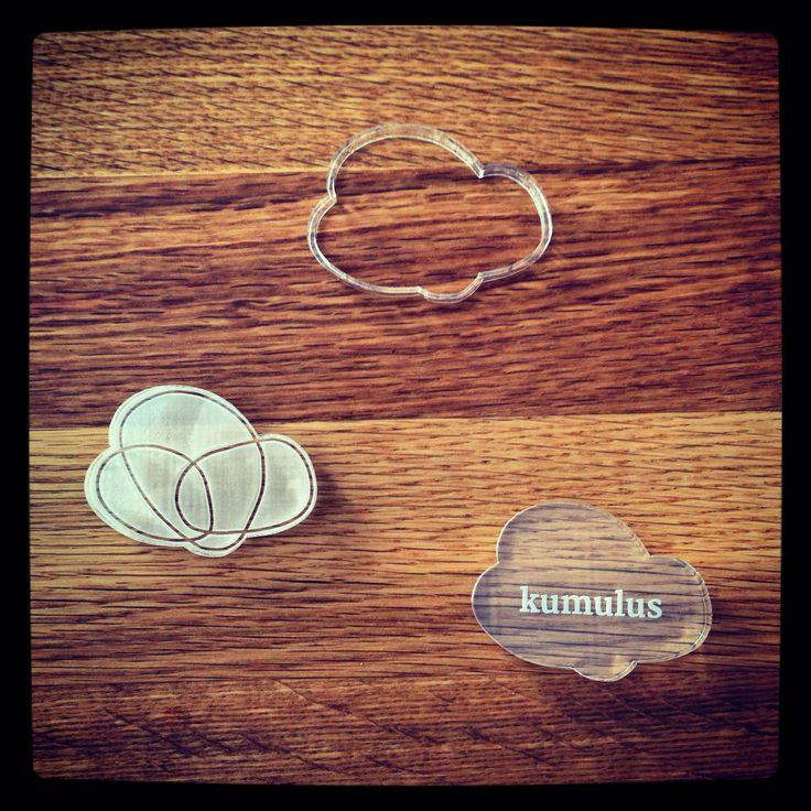 Das #Logo als Ausstechform. Eine prima Idee für die Verpflegung bei Workshops! #kumulus #Wolke #Cloud #SocialMedia