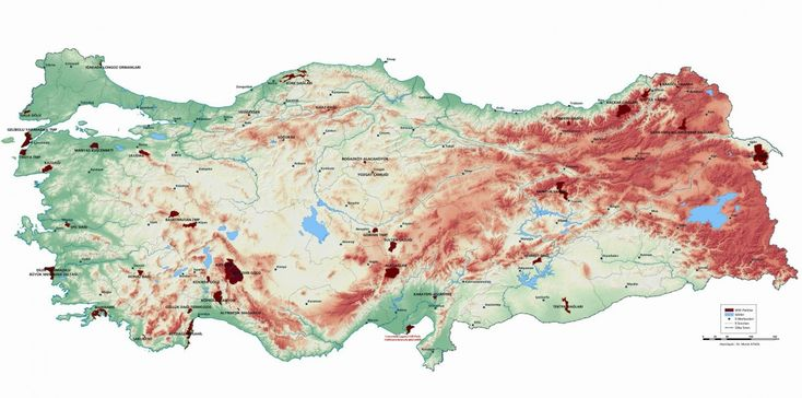 Türkiye'de Görülmesi Gereken Milli Parklar