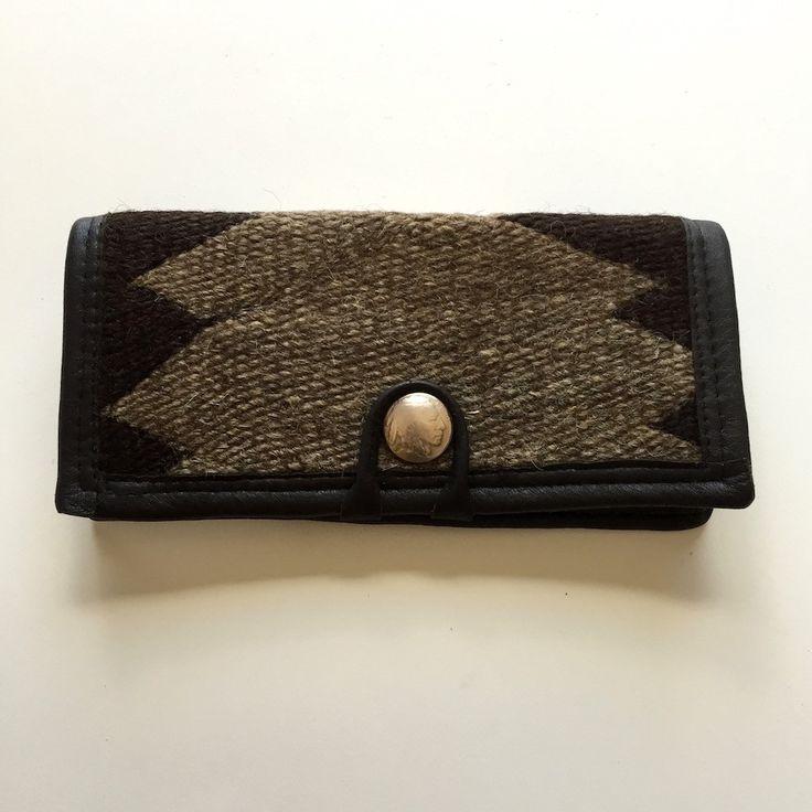 1920s Navajo Rug Wallet