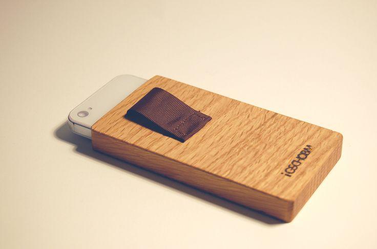 Custodie per cellulari - iGSCHOBM pour iphone 4/4s // le chêne majestueux - un prodotto unico di clemsch su DaWanda