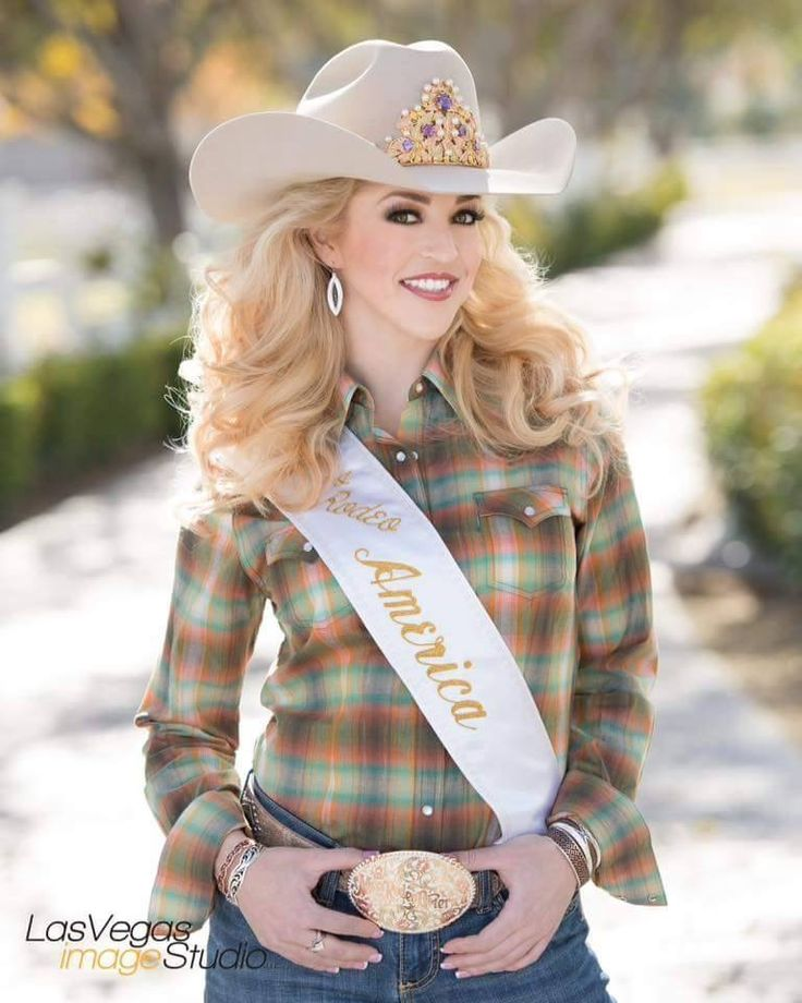 Katherine Merck, Miss Rodeo America...from Spokane WA.