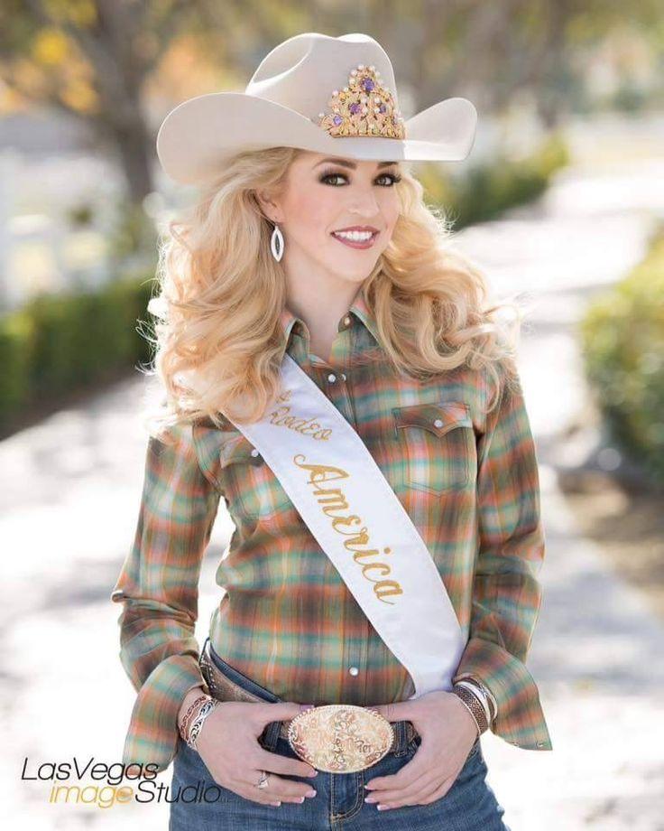 Katherine Merck Miss Rodeo America From Spokane Wa