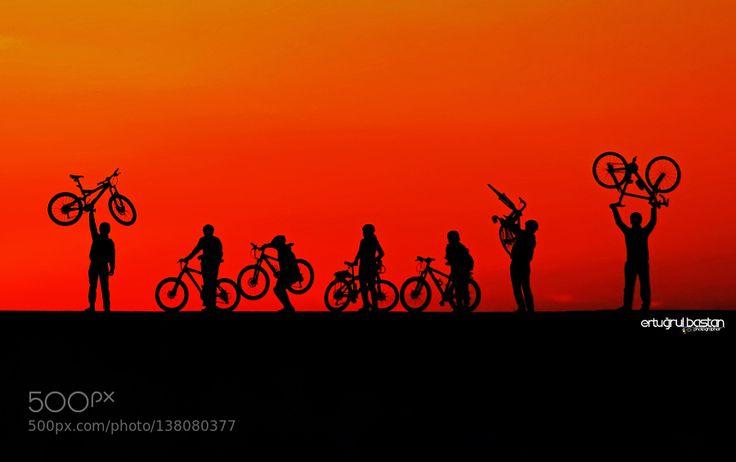 Günbatımı Ters Işık-Bisikletçiler 2 by ErtgrlBstn