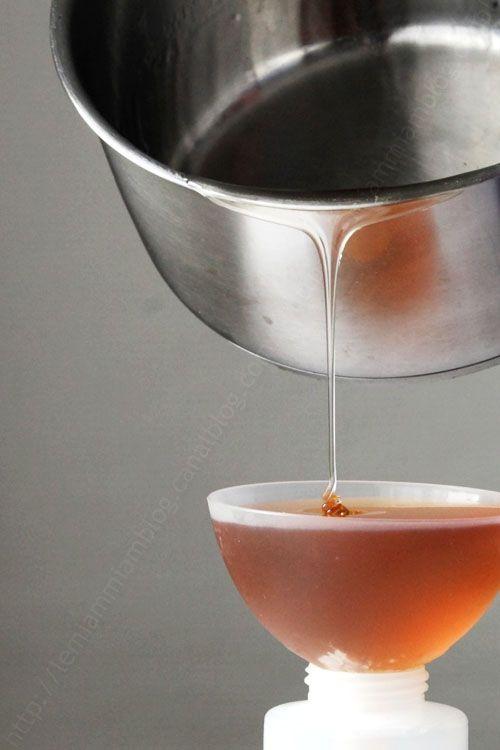 comment realiser un caramel liquide 0001 LE MIAM MIAM BLOG