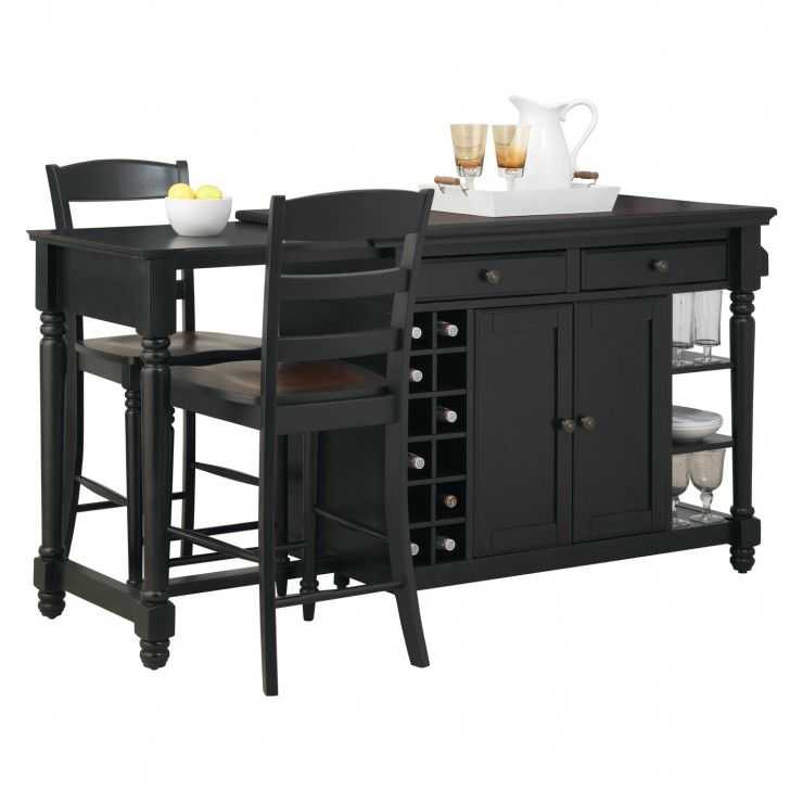 Movable Kitchen Island With Stools Novocom Top