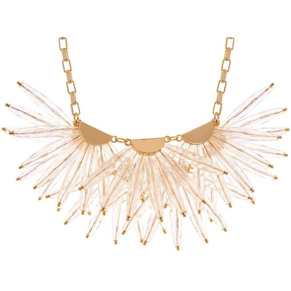 Ted Baker Florenz Flare Burst Necklace 63 Liked On Polyvore Featuring Jewelry Neckla White Gold Necklace Chain Crystal Bead Necklace White Gold Necklaces