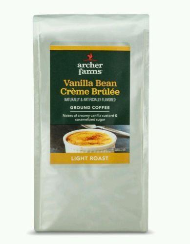 Archer Farms / Vanilla Bean Creme Brulee / Light Roast Ground Coffee (12oz Bag)