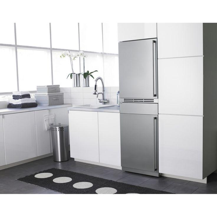 Mejores 32 im genes de lavadora y secadora en la cocina en - Lavadora y secadora en columna ...