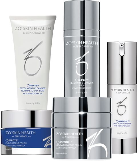Level II: Anti-Aging Program Condition: Mature Skin  Early signs of intrinsic aging–fine lines, uneven skin tone, loss of firmness. Anti-Aging Skincare Program  The Anti-Aging Skincare Program uses higher concentrations of active ingredients including growth factors, retinol, and specialized enzymes, to prevent and help repair moderate skin damage at the cellular level. #ZOSkinHealth