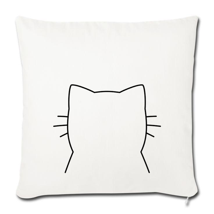 Katze Kissenbezug